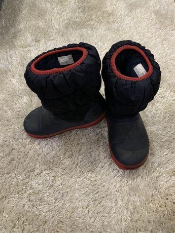 Сапожки ботинки crocs c10
