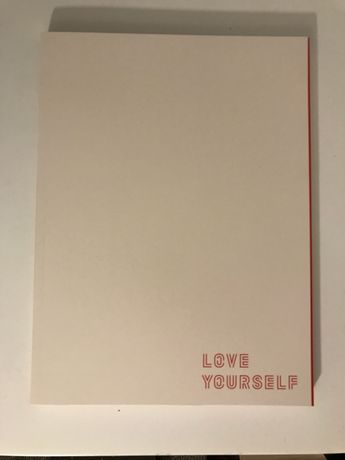 BTS Love yourself tour Program Book