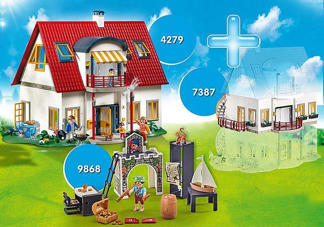 Playmobil огромный супер сет. 4279, 7387, 9868. Дом, гараж и + этаж