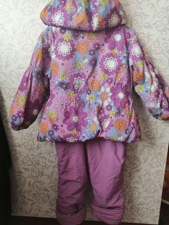 Костюм демисезонный комбинезон куртка, штаны р. 98