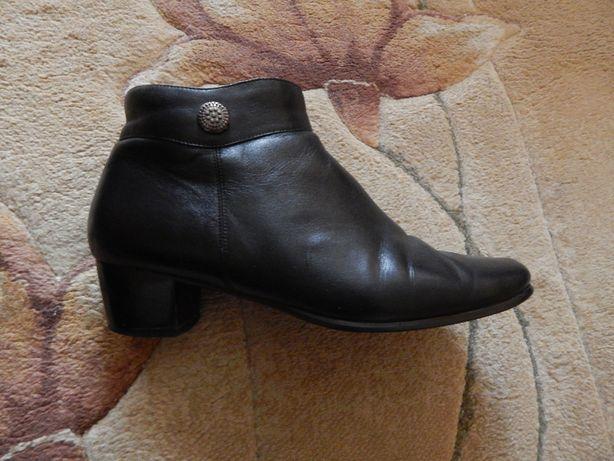 Кожаные ботильоны боты ботинки туфли Emmate
