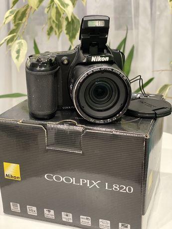 Продам фотоаппарат coolpix l820