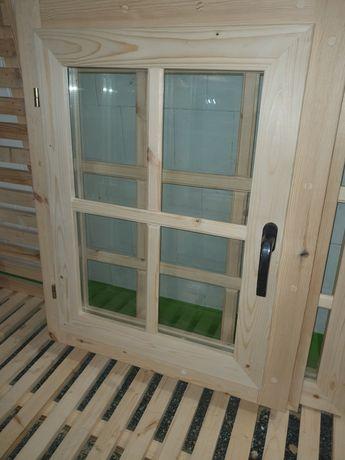 Okno drewniane 90 x 70