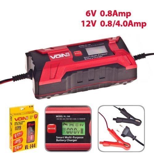 Зарядное устройство импульсное Voin VL-144 (интелектуальное) Черкассы - изображение 1