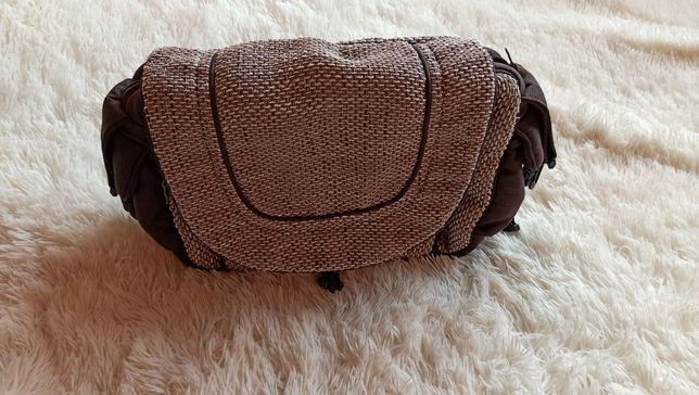 Torba torebka do wózka brązowa