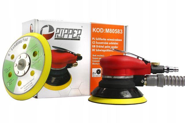 Szlifierka mimośrodowa pneumatyczna oscylacja 125+150mm RIPPER