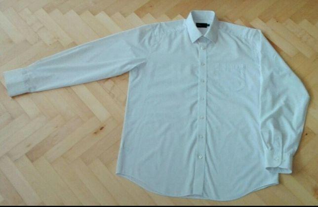 Koszula biała elegancka 42 176/182 L Marks& Spencer