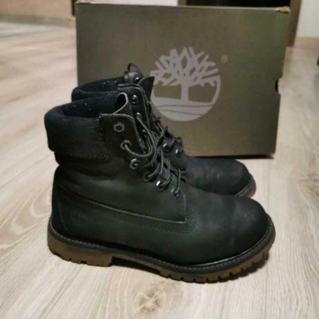 Ботинки Timberland 38 размер, черный нубук