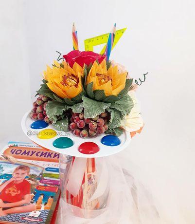 Букеты, съедобные композиции,  подарки и декорации.