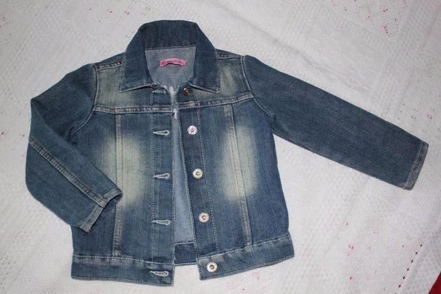 Куртка джинсовая Gloria djins на 2-3 года, как новая