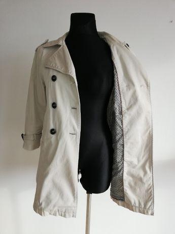 Płaszcz z krótkim rękawem oversize ZARA Basic rozmiar M