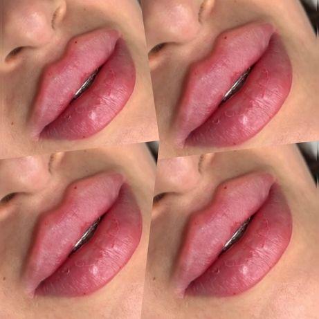 Косметолог, чистка лица ,объем губ, губки  ,ботокс , обучение