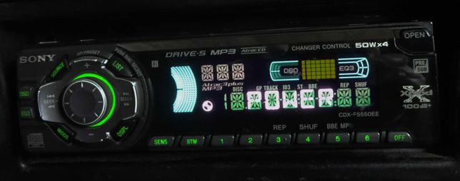 Sony CDX-F5550EE автомагнитола с CD / MP3