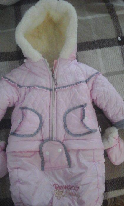 Дуже теплий дитячий конверт на овчині Радехов - изображение 1