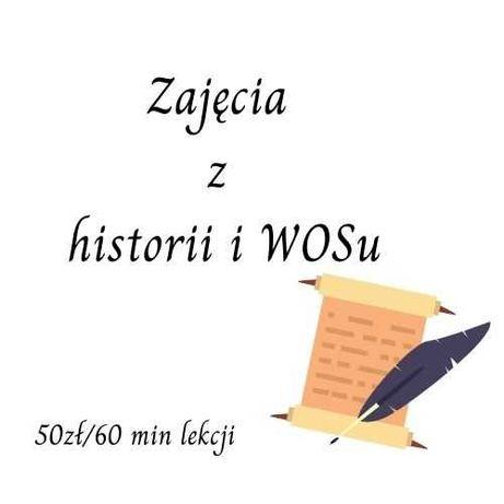 Zajęcia z historii i WOSu