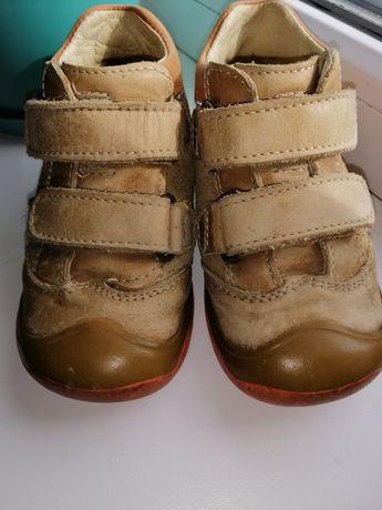 Кожаные ботинки BARTEK, стелька 13,5 см 22 р.
