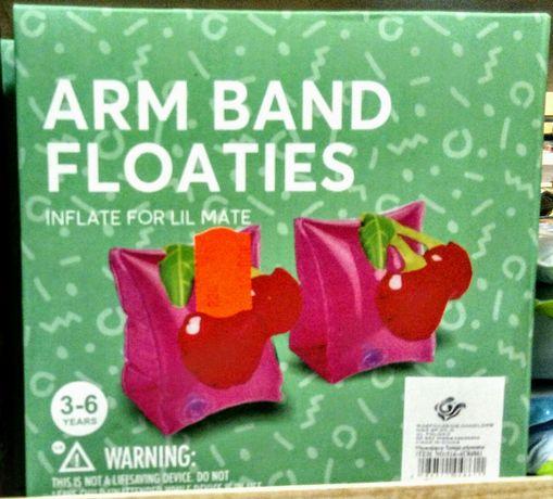 Rękawki dmuchane do pływania Wisienki (Kup Kilka Przedmiotów=RABAT)