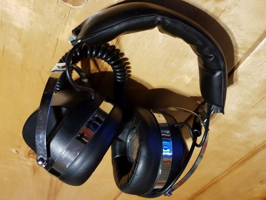 VINTAGE! Najwyższy model - Słuchawki SHARP HP-400H '77 rok! Wysyłam! Nowy Targ - image 1