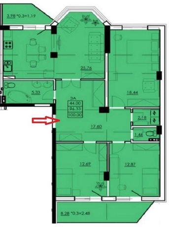 Продам просторную уютную квартиру по адресу Сахарова/Высоцкого