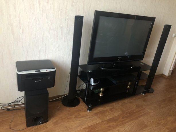 Телевизор Samsung акустическая система SONY