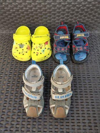 Skórzane sandałki Bartek 25 i dwa gratisy