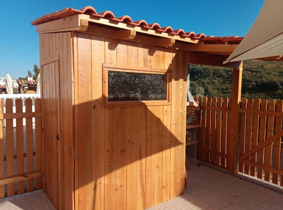 abrigo de jardim Madeira&Conforto