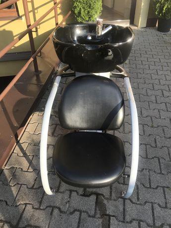 Myjka  frzjerska fotel fryzjerski