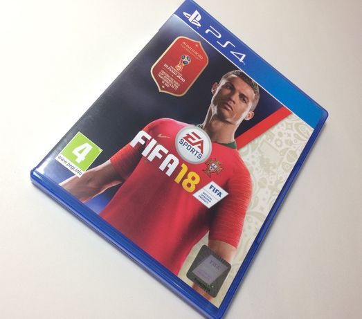 Fifa 18 World Cup Russia PS4