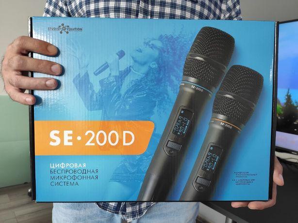 Беспроводной караоке микрофон. Цифровые микрофоны от Studio Evolution