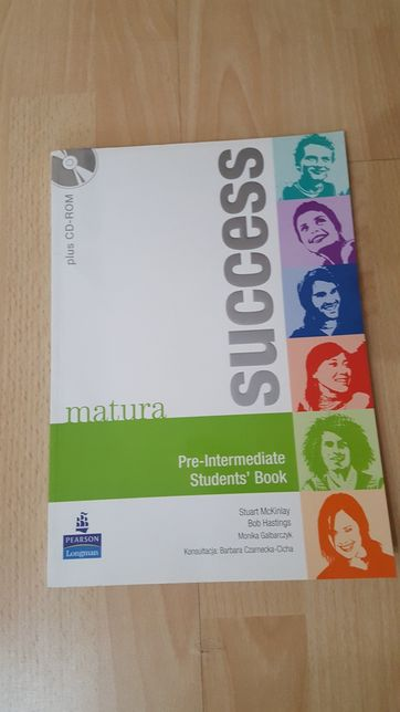 NOWA matura success Pre-intermediate Student's Book + płyta