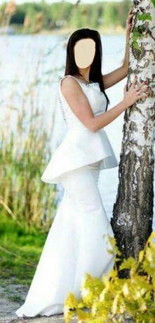 Suknia ślubna, ślub cywilny 38- 4 części