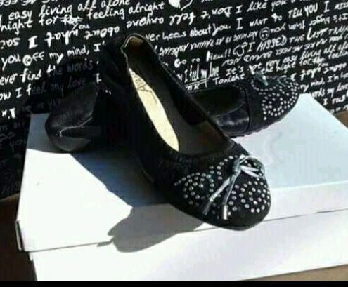 Туфли , балетки кожа 37,38 Обмен