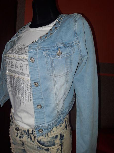 Katana kurtka jeansowa S