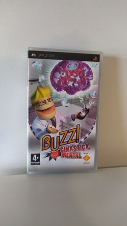 Jogo PSP - Buzz Ginástica Mental