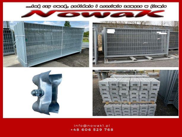 Ogrodzenie tymczasowe budowlane 3,5x1,2 Płoty Plot Mobilny 1mb Niskie