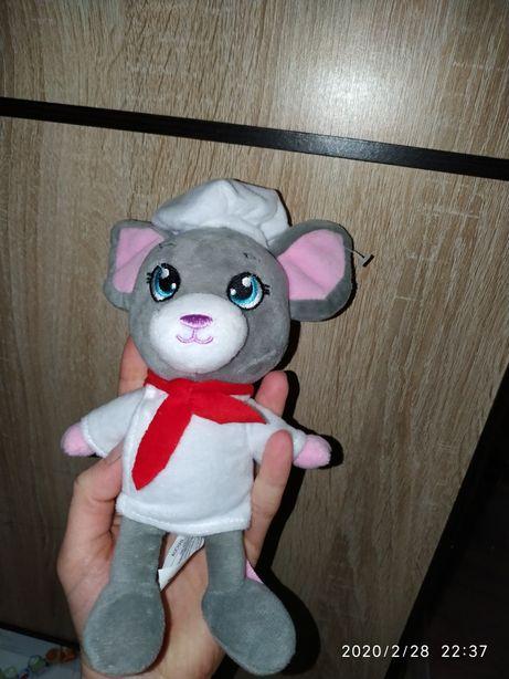 Мягкая игрушка Мышка повар 2020