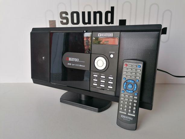 Pionowy odtwarzacz DVD CD z bluetooth USB SD plus radio