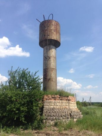 Водонапорна башня 15 куб