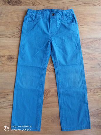 Długie spodnie bawełniane r. 116