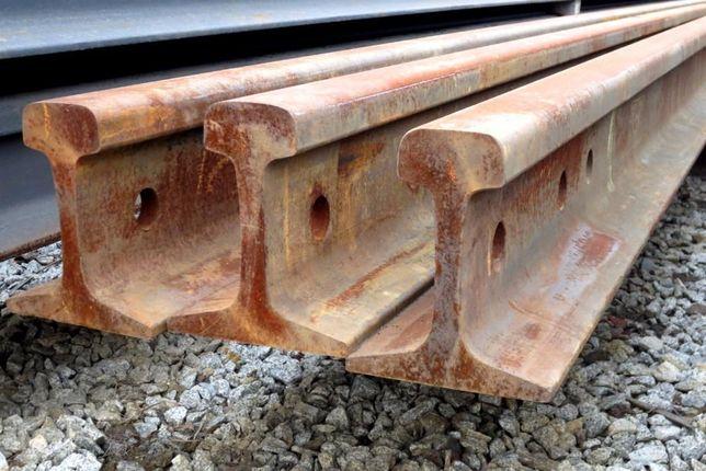 Рельса Р43, рельсы, рейки, швеллер, арматура, балка, металл, сталь.