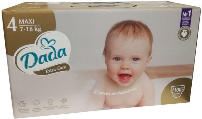 Підгузники Dada Extra Care 4 Maxi (7-18 кг), 100 штук