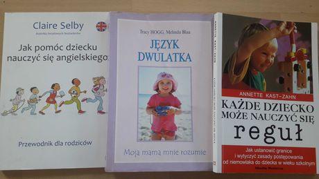 Ksiazki 3 szt jezyk dwulatka tracy hogg i inne