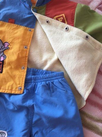 Продам Деми костюмы для мальчика и девочки 92р