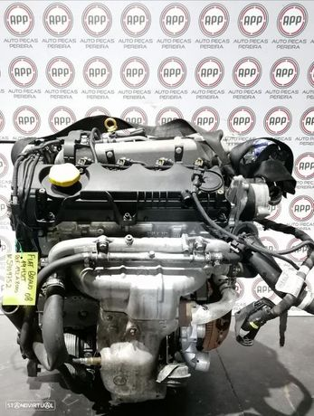 Motor Fiat Bravo de 2008 1.9 MJET referência 192A8000, aproximadamente 172 000 kms.