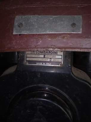 Vendo motoenxada Lombardini