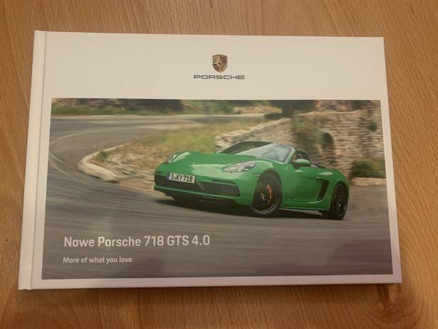 Prospekt Porsche 718 GTS 4.0