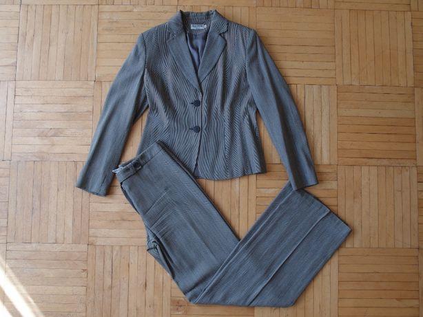 Magnum szary kostium garnitur ze spodniami 38