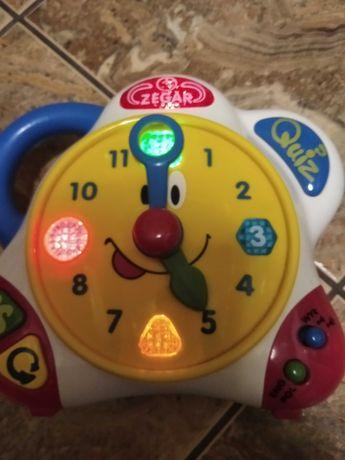 Zegar do nauki godzin mowiacy po polsku i angielsku