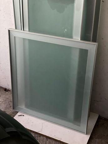 Portas de vidro  fosco