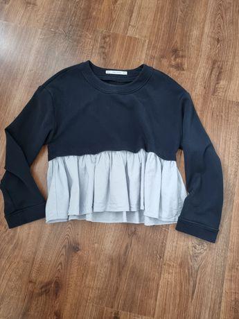 Bluzka Zara r.M, granatowa
